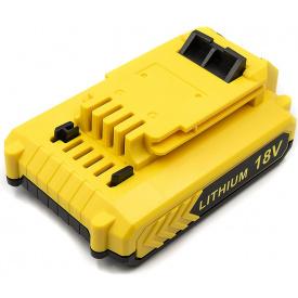 Аккумулятор PowerPlant для шуруповертов и электроинструментов BLACK&DECKER 18 V, 2 Ah, Li-ion (TB920693)