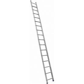 Алюминиевая лестница приставная Техпром P1 9116 1х16 профессиональная