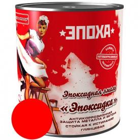 Емаль ЕПОКСИДКА ЕПОХА, червона, 1 кг