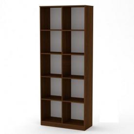 Книжный шкаф витрина Компанит КШ-2 дсп орех цвет