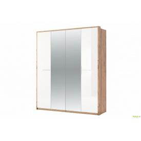 Шафа 4Д із дзеркалом (Глянець) Нікі MiroMark