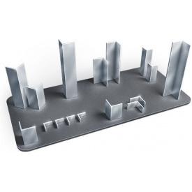 Уголок алюминиевый 240х40х4 мм