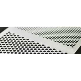 Лист нержавеющий перфорированный PA Rv8-12/3/1000x2000 мм