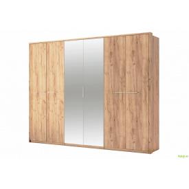 Шафа 6Д із дзеркалами Дуб крафт Нікі MiroMark