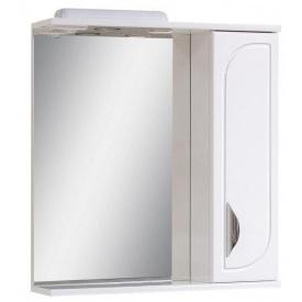 Дзеркало для ванної кімнати БАТЕРФЛЯЙ 70 праве з підсвічуванням Пік