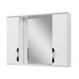 Дзеркало для ванної кімнати АЛЬВЕУС 90 LED ручка врізна Пік