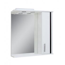 Дзеркало для ванної кімнати ЛІНЕА 65 праве з підсвічуванням Пік
