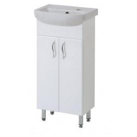 Тумба для ванної кімнати БАЗИС 40 c умивальником АРТЕКО 40