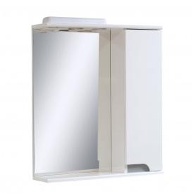 Дзеркало для ванної кімнати СІМПЛ 60 металік праве Пік