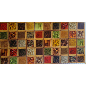 Панели ПВХ Грейс Коробка со специями 0,3 мм 964х484 мм