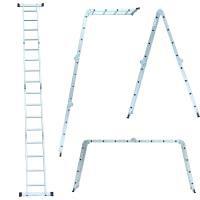Драбина багатоцільова 4х4 (алюмінієва) FLORA (5031324)
