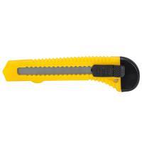 Нож строительный пластиковый корпус лезвие 18 мм автоматический замок SIGMA (8213011)