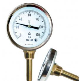 """Термометр ТБ-63-50 0+120 2,5 1/2"""" осьовий"""