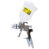 Краскораспылитель HVLP 1.3 мм хром с верхним пластиковым баком SIGMA (6812131)