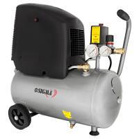 Компресор одноциліндровий безмасляний 1,8 кВт 245 л / хв 8 бар 24 л SIGMA (7042121)