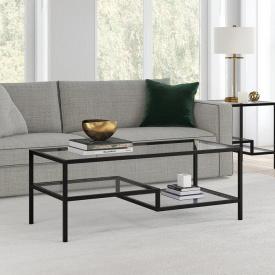 Журнальний кавовий столик GoodsMetall в стилі Лофт 1200х500х450 ЖС163