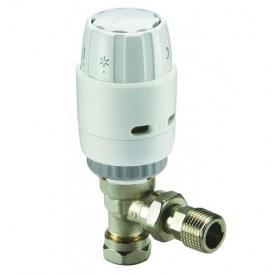 Комплект термостатический клапан Ду15 и термоголовка RAS-C2 угловой