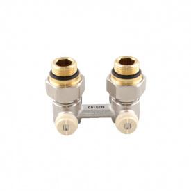 """Клапан нижнього підключення для сталевих радіаторів зі стіни 2x1 / 2 """"-3/4"""""""
