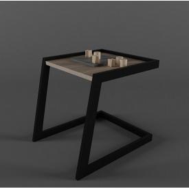Столик журнальний кавовий GoodsMetall в стилі Лофт 500x400x450 ЖС 41