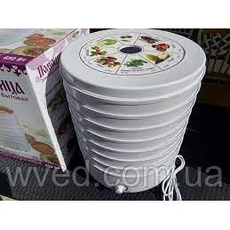 Сушка для фруктов Помошница 30 л 7 лотков 650 Вт
