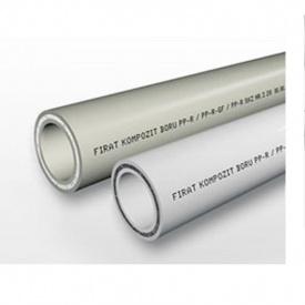 Труба полипропиленовая PP-R/F PN 20 бар 25 мм белая