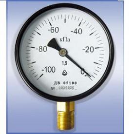 Манометр ДМ 05-МП-3У 100 - 1,6 МПа - 1,5 радиальный
