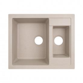 Кухонная мойка с дополнительной чашей Lidz 615x500/200 MAR-07 (LIDZMAR07615500200)