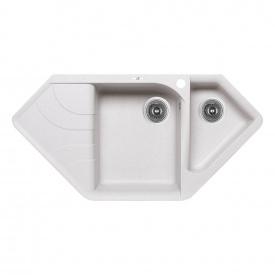 Кухонная мойка с дополнительной чашей Lidz 1000x500/225 STO-10 (LIDZSTO101000500225)