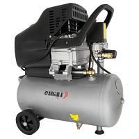 Компресор одноциліндровий 1,8 кВт 230 л / хв 8 бар 24 л (2 крана) SIGMA (7043131)