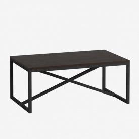Журнальний кавовий столик GoodsMetall в стилі Лофт 1000x600x450 ЖС 451