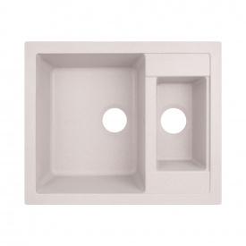 Кухонная мойка с дополнительной чашей Lidz 615x500/200 COL-06 (LIDZCOL06615500200)