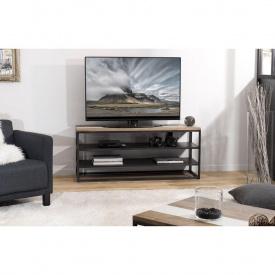 Тумба под телевизор GoodsMetall из металла в стиле Лофт 1300х550х400 Т107