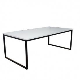 Журнальный кофейный столик GoodsMetall в стиле Лофт 1200х600х420 ЖС111