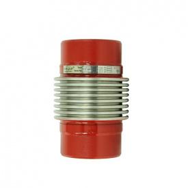 Компенсатор осевой приварной стальной с внутренней вставкой KAYSE Ду 50 L30 PN16