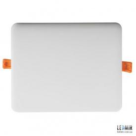 Светодиодный светильник Kanlux AREL Квадрат 20W-3000K белый безрамочный