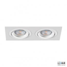 Встраиваемый светильник Kanlux SEIDY CT-DTL250-W/M G5.3 Белый