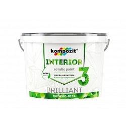 Краска интерьерная KOMPOZIT Interior 3 4,2 кг