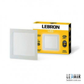Светодиодный светильник Lebron Квадрат 18W-4100K