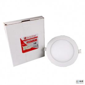 Світлодіодна панель ElectroHouse 12W-4100К кругла