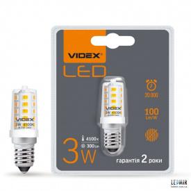 Світлодіодна лампа Videx E14 3W-4100K