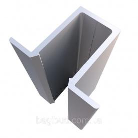 Омега профіль алюмінієвий Руст нефарбований