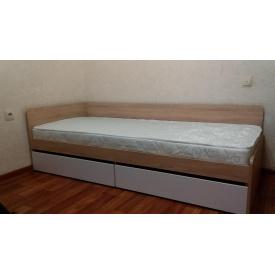 Ліжко односпальне з ящиками 80х190 Сфера 800