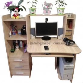 Стол компьютерный Лира Эверест 125х60х125 см Дуб Сонома