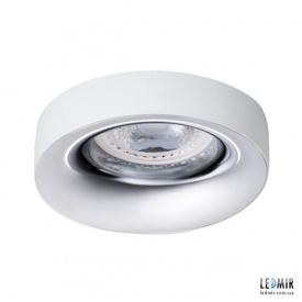 Встраиваемый светильник Kanlux ELNIS L W/C GU10 Белый / Хром
