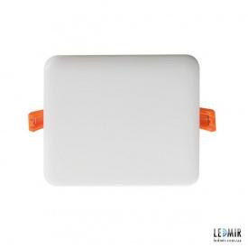 Светодиодный светильник Kanlux AREL Квадрат 10W-3000K белый безрамочный