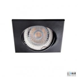 Встраиваемый светильник Kanlux ALOR DTL-B GU10 Черный