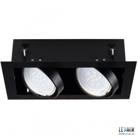 Встраиваемый светильник Kanlux MATEO ES DLP-250-B GU10 Черный