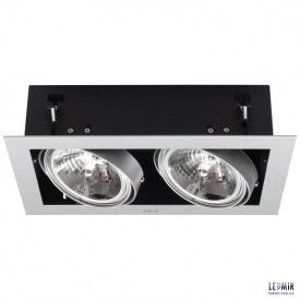 Встраиваемый светильник Kanlux MATEO DLP-250-GR G53 Серый