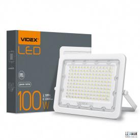 Светодиодный прожектор Videx 100W-5000K White