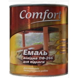 Эмаль ПФ-266 красно-коричневая COMFORT Home 2,8 кг